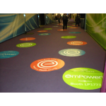 Removable Floor Vinyl Graphics